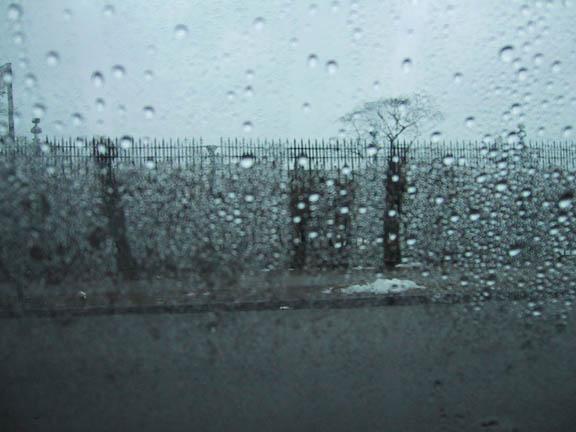 day at my house, rainy