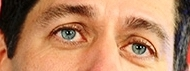 Paul Ryan's eyes